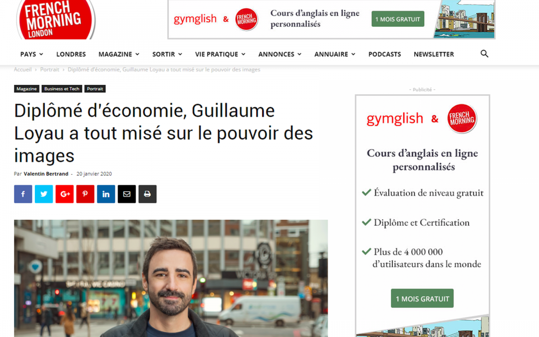 Yalding Media featured in French Morning London